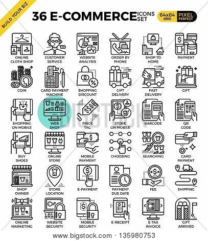 E-commerce Business Icons