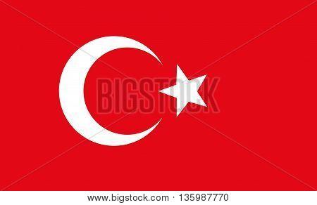 Original art background of turkey flag desin
