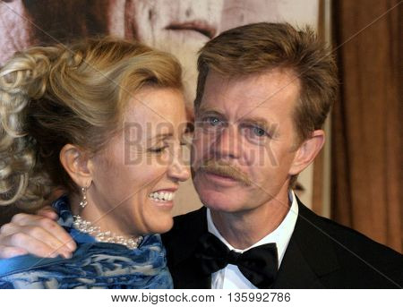 Felicity Huffman and William H. Macy at the 56th Annual Primetime Emmy Awards - Showtime After Party held at the Morton's in Beverly Hills, USA on September 19, 2004.