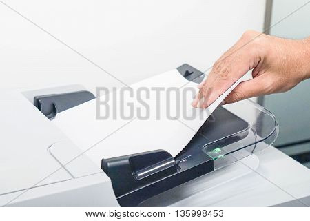 Print copy and scan the business documents