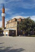 the banya bashi mosque in sofia bulgaria poster