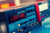 FM VHF and HF transceiver for radio communication and broadcasting. Tonet photo poster