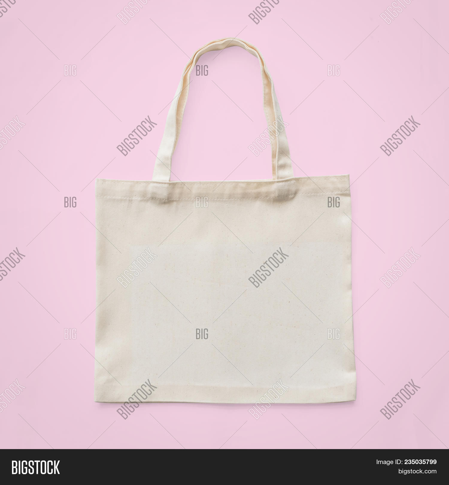 Tote Bag Mock Up Canvas White Cotton Fabric Cloth Eco Ping Sack Mockup Blank Template Isolated