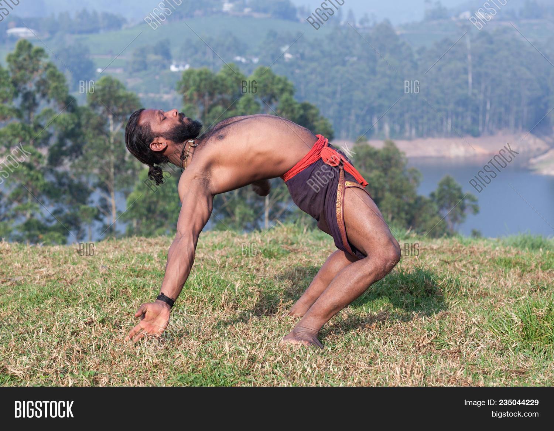Indian Man Doing Yoga Image Photo Free Trial Bigstock