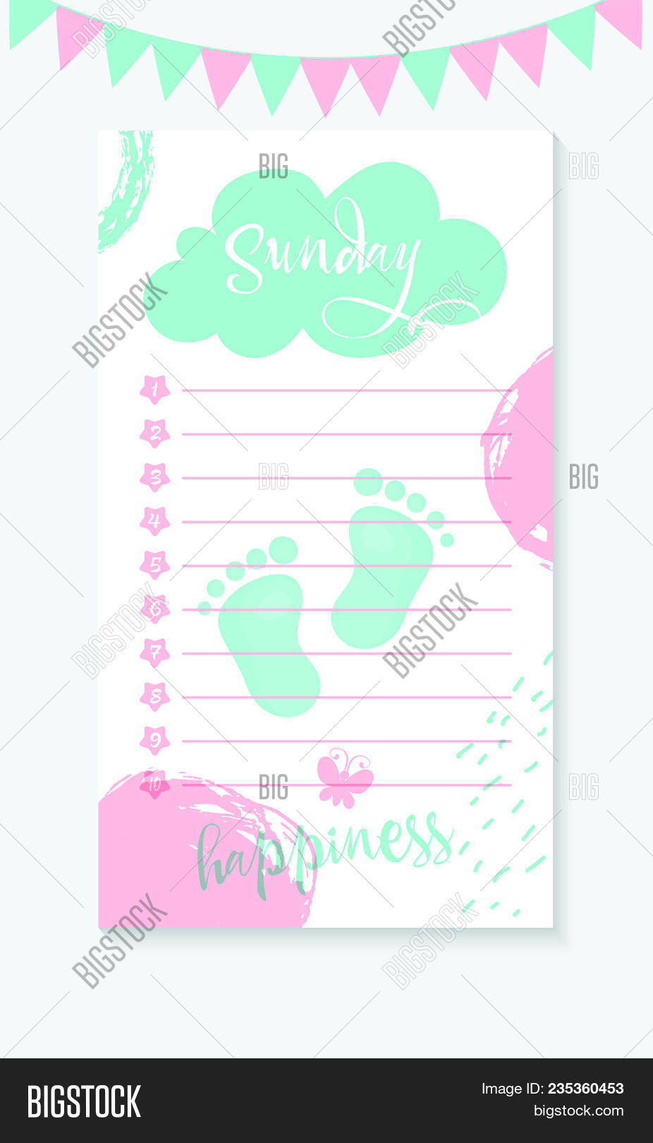 monday daily do list vector photo free trial bigstock