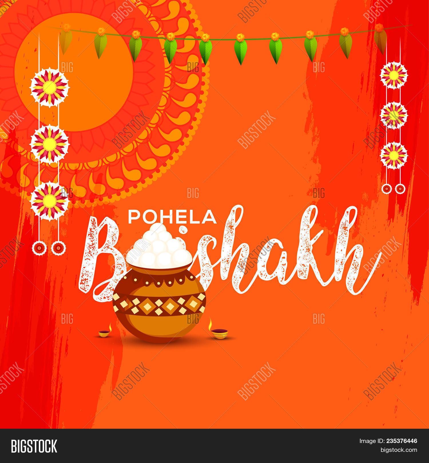 Poster banner bengali image photo free trial bigstock poster or banner of bengali new year pohela boishakh greeting card background m4hsunfo