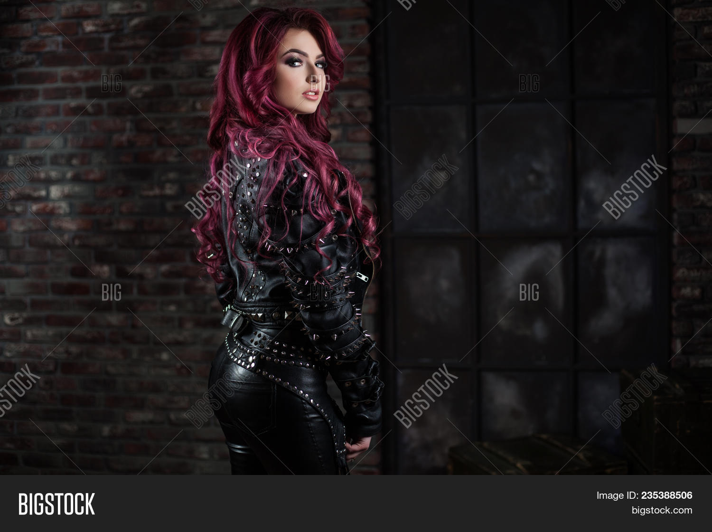 Redhead adult model