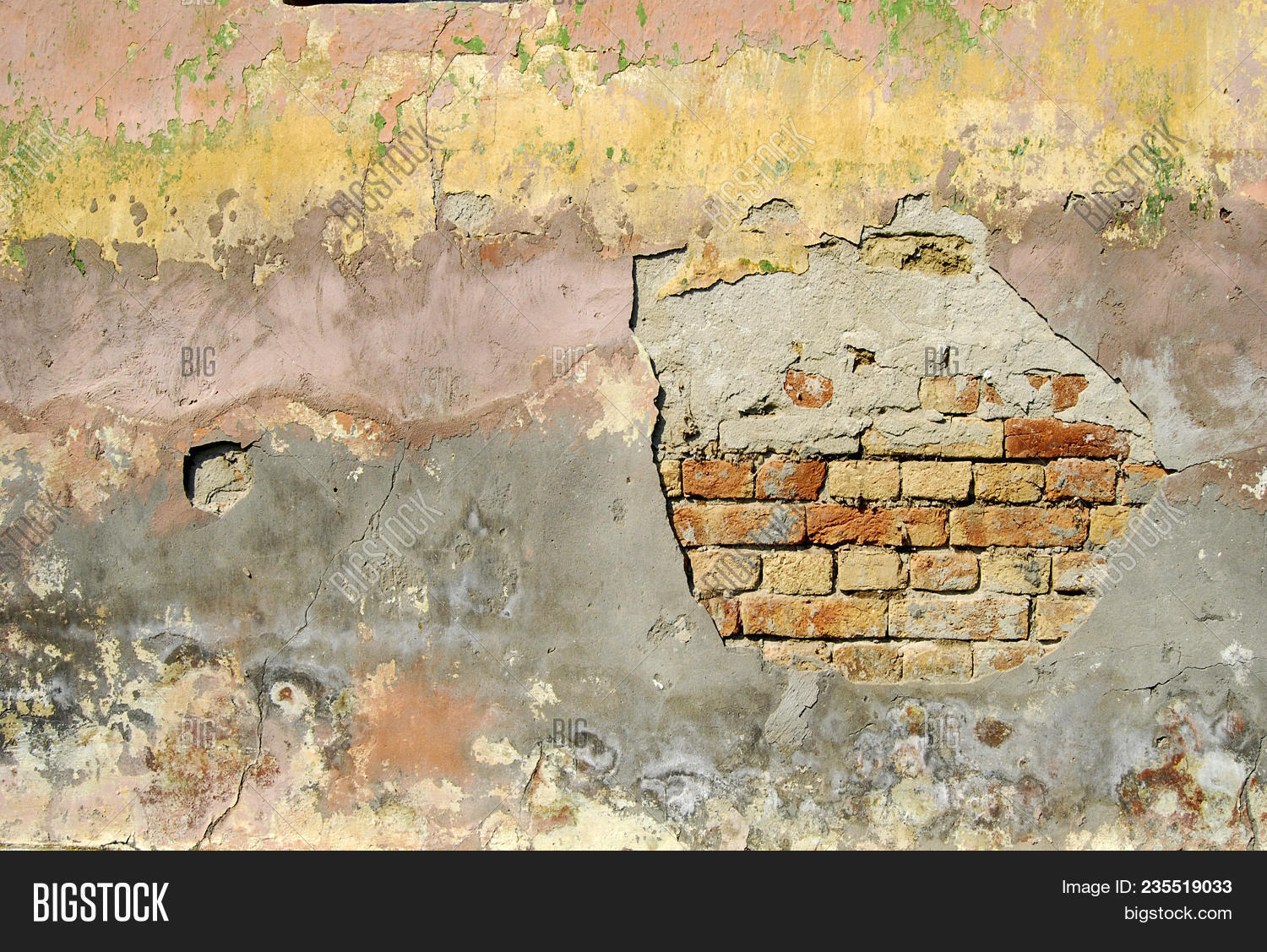 Superb Wall Old House Dobrica Image Photo Free Trial Bigstock Download Free Architecture Designs Embacsunscenecom