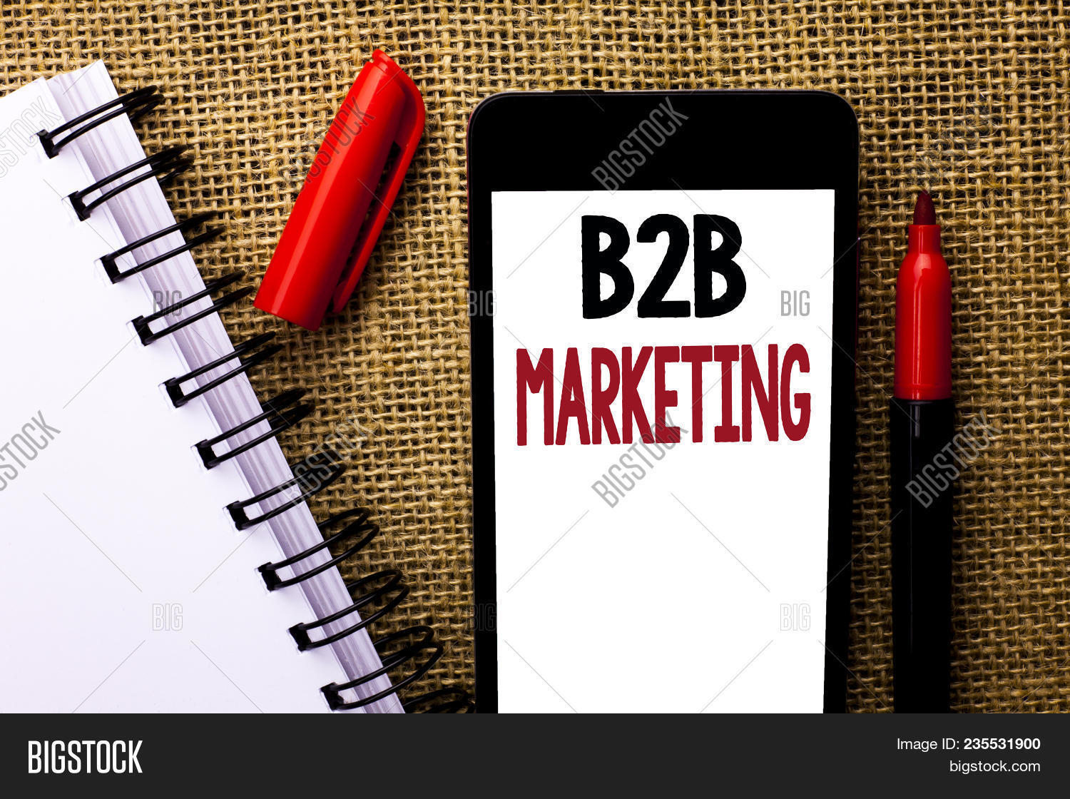 Handwriting Text B2b Image & Photo (Free Trial) | Bigstock