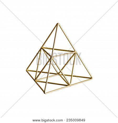 Golden Triangular Pyramid