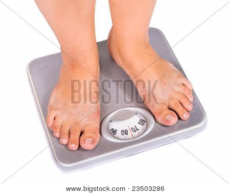 Feet On Floor Scales