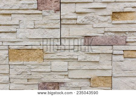 Old Brown Bricks Wall Pattern Brick Wall Texture Or Brick Wall Background Light For Interior Or Exte