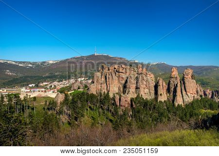 The Rocks Of Belogradchik (bulgaria) - Red Color Rock Sculptures Part Of Unesco World Heritage