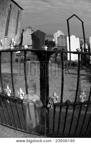 Girl At The Graveyard Gates
