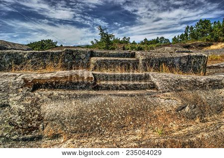 Ruins Of Panoias, An Ancient Roman Temple, Vila Real, Portugal