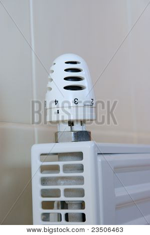 Radiator Adjustment Closeup
