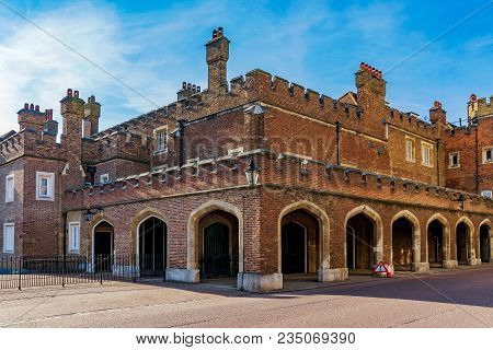 St James's Palace Historic Architecture