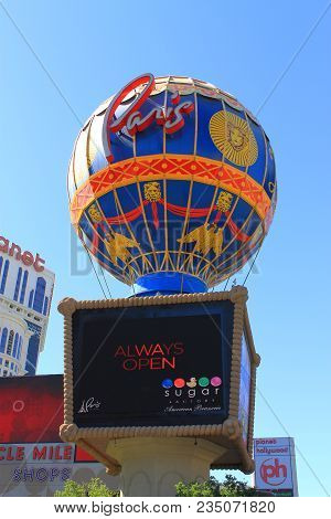 Las Vegas - July 3: The Paris Hotel And Casino On July 3, 2012 In Las Vegas, Nevada. Opened In 1999,