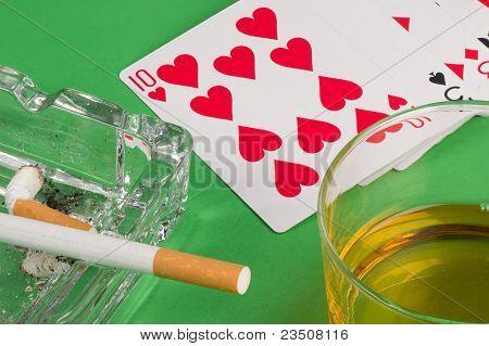 Gambling Still Life