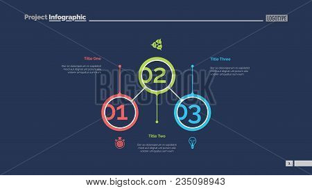 Business Aspects Circles Slide Template. Business Data. Graph, Diagram. Concept For Templates, Prese