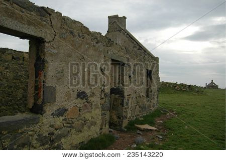 Remains Of The Coastal Village Seaton Of Rattray, Also Known As Botany, Aberdeenshire