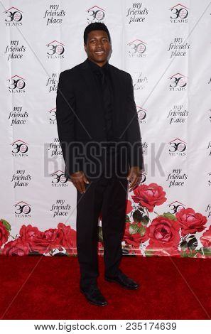 LOS ANGELES - APR 7:  Eli Goree at the My Friend's Place 30th Anniversary Gala on the Hollywood Palladium on April 7, 2018 in Los Angeles, CA