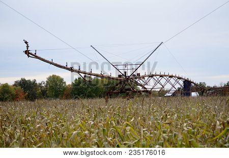Large Area Crop Watering Agricultural Sprinkler System