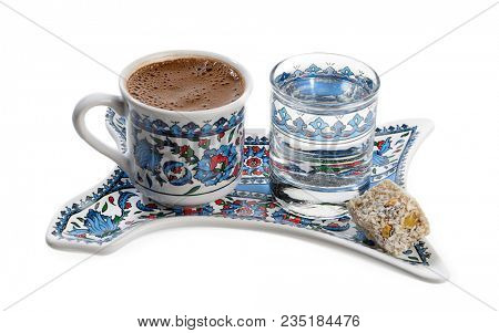 Coffee with Turkish Delight