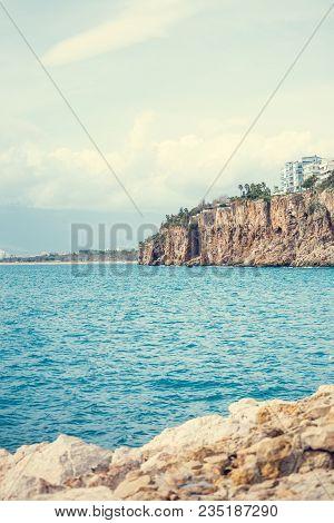 Beautiful Sea Coast.
