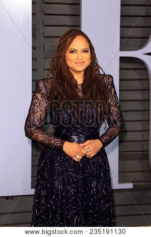 LOS ANGELES - MAR 4:  Ava DuVernay at the 24th Vanity Fair Oscar After-Party at the Wallis Annenberg Center for the Performing Arts on March 4, 2018 in Beverly Hills, CA