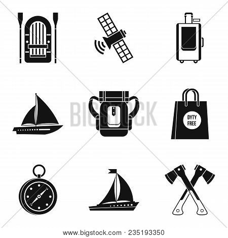 Sending Icons Set. Simple Set Of 9 Sending Vector Icons For Web Isolated On White Background