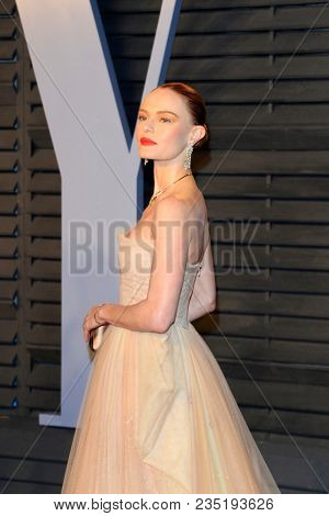 LOS ANGELES - MAR 4:  Kate Bosworth at the 24th Vanity Fair Oscar After-Party at the Wallis Annenberg Center for the Performing Arts on March 4, 2018 in Beverly Hills, CA