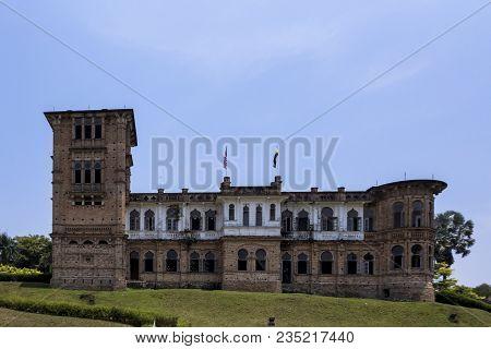 Kellies Castle Is A Castle Located In Batu Gajah, Kinta District, Perak, Malaysia.