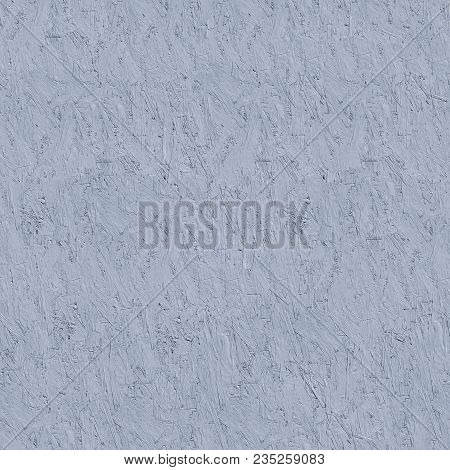 Painted Gray Pressed Wood Panel - Osb. Seamless Tileable Texture.