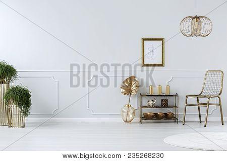 Golden Sitting Room