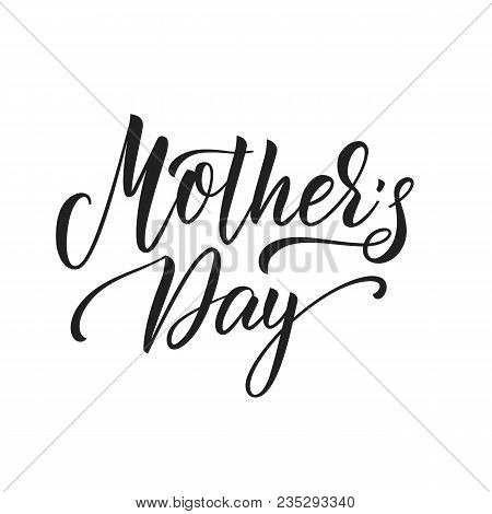 Mothers Day. Mother's Day Script Lettering Design
