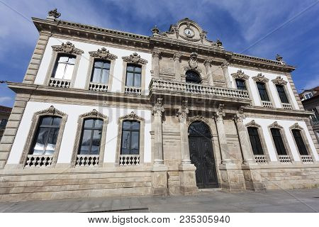 City Council Of Pontevedra In Galicia, Spain