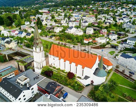 Molde Domkirke Cathedral Is The Cathedral Of The Diocese Of More Of The Church Of Norway. It Is Loca