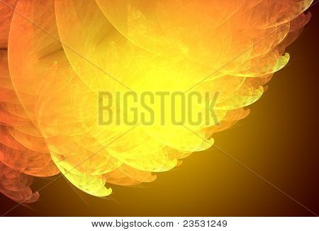 Design background with creative colors and beauty effects. poster