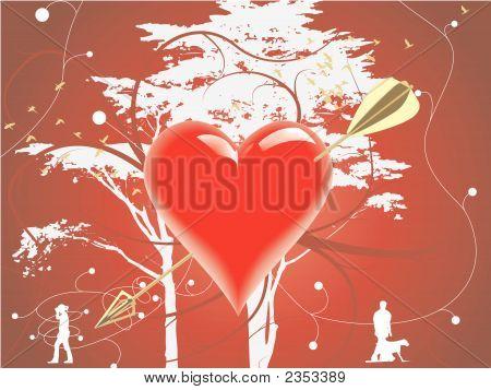 Saint Valentine Heart