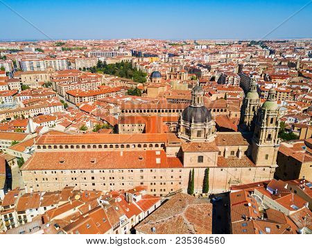 La Clerecia Or Clerge Building In Salamanca City, Castile And Leon In Spain