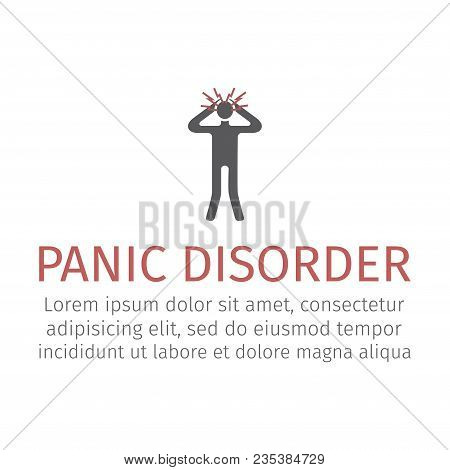 Panic Disorder Icon. Vector Signs For Web Graphics