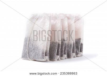 Tea Bag Isolated On White Background. Tea