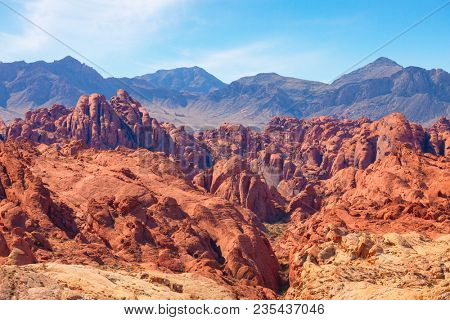 Fire Canyon in the   Valley of Fire State Park, Nevada, United States