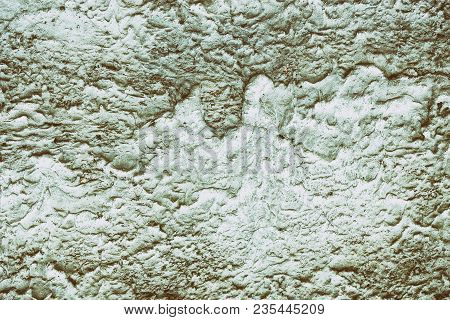 Grunge Textured Background Of Concrete Wall With Cement Plaster Streaks