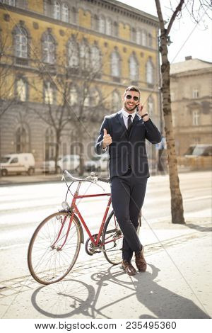 Smart manager using a bike