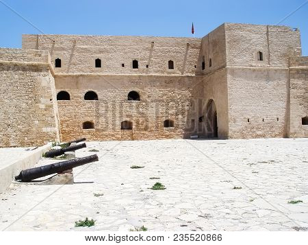 Turkish fortress of Bordj El Kebir in Mahdia. Tunisia poster