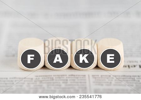 "Fake News - The Words ""fake"