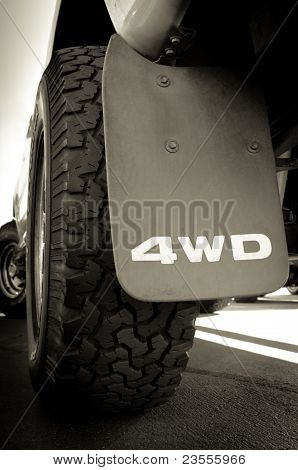 4Wd And Tire