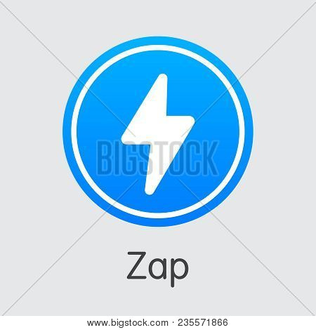 Blockchain Cryptocurrency Zap. Net Banking And Zap Mining Vector Concept. Blockchain Cryptocurrency